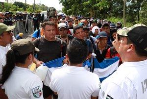 Desde mediados de octubre de 2018, miles de migrantes, en su mayoría hondureños y salvadoreños, iniciaron un éxodo hacia EE.UU.