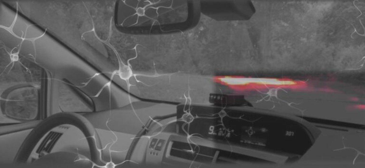 La Inteligencia Artificial logra controlar un vehículo autónomo inspirándose en un gusano
