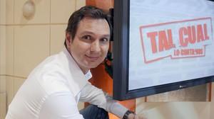 El periodista Javier Cárdenas, fichado por TVE para su nuevo 'talk show' nocturno.