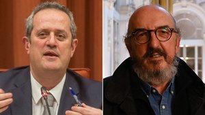El 'exconseller' Forn y el propietario de Mediapro, Jaume Roures