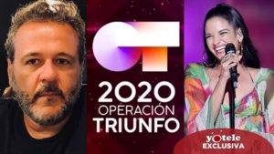 Joaquín Portgués 'Portu', nuevo miembro del jurado de 'OT 2020' junto a Natalia Jiménez.