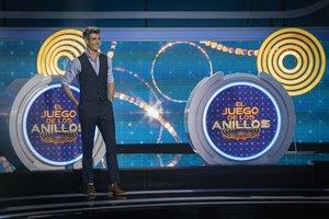 Jorge Fernández en el plató de 'El juego de los anillos'.
