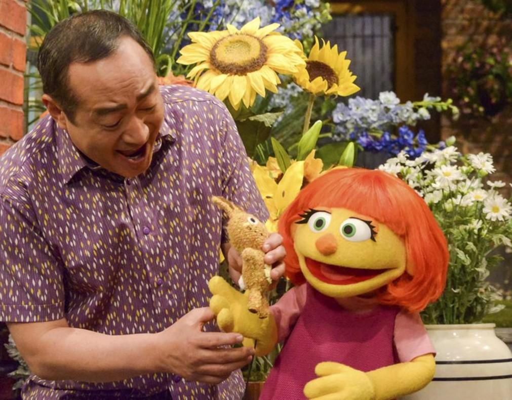 Julia, el nuevo personaje de Los Teleñecos, en el episodio Conoce a Julia.