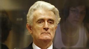 Karadzic, en su aparición inicial en el tribunal, el 31 de julio del 2008.