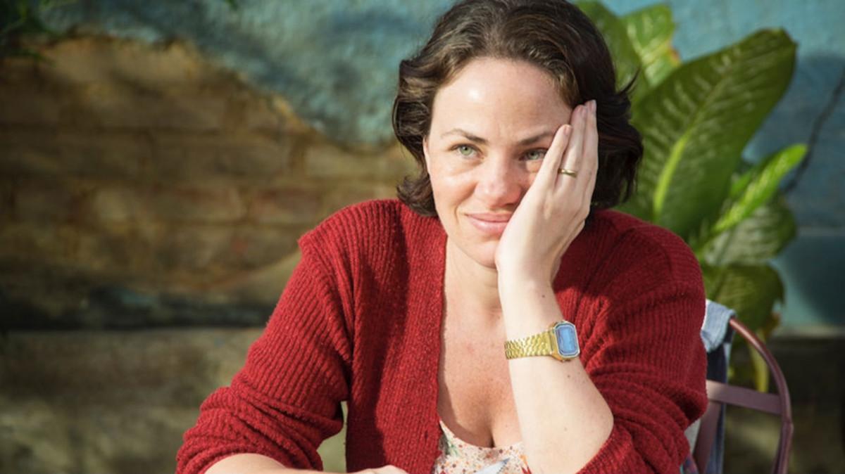 Karine Teles, en un fotograma de la película Siempre juntos (Benzinho).