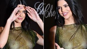 Kendall Jenner, con un diseño de infarto de La Perla, en la fiesta de Chopard en Cannes.