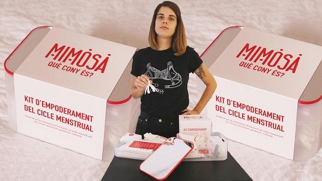 Kit menstrual Mimosa: el empoderamiento empieza por saber qué hay allí abajo.