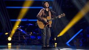El cantante que representó a España en Eurovisión y que se ha convertido en concursante de 'La voz senior'
