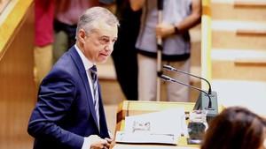 El lehendakari, Iñigo Urkullu, interviene en el pleno de Política General.