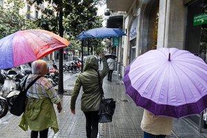 Alerta per calamarsa i tornados a Girona