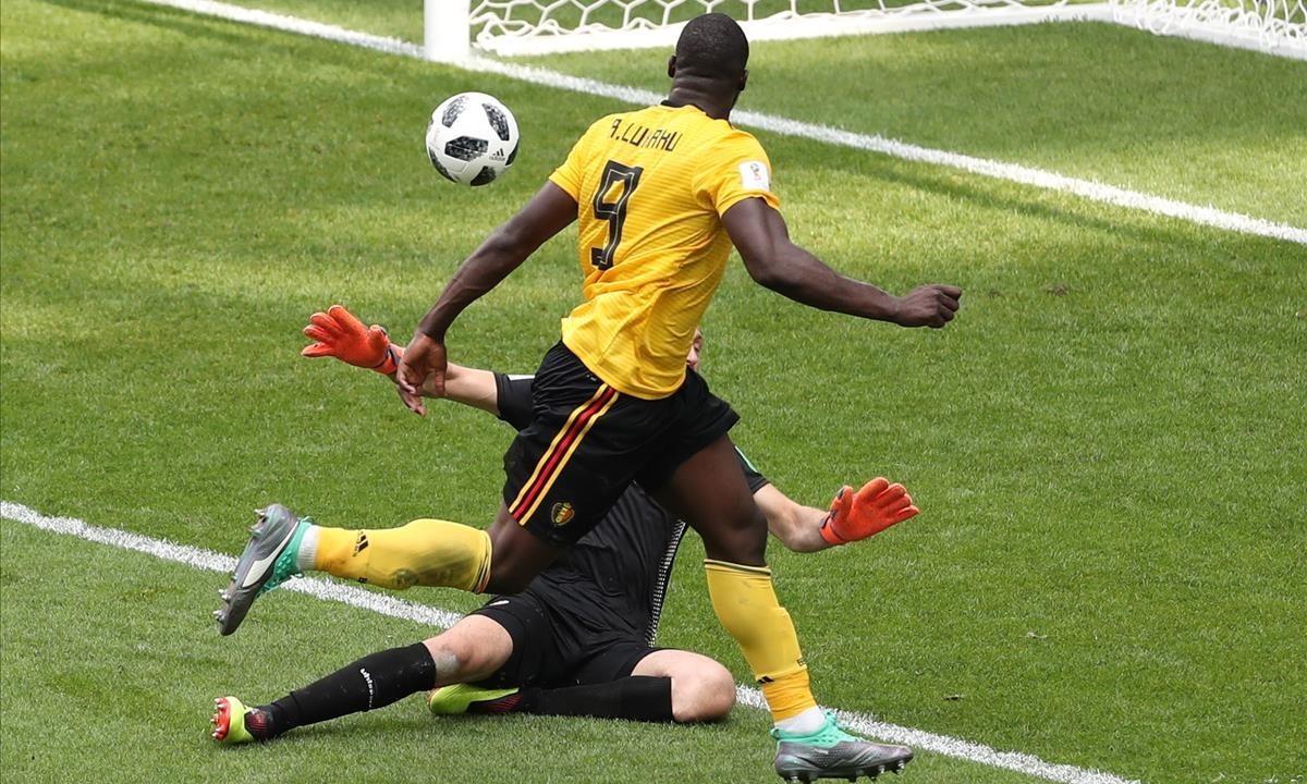 Lukaku marca el 3-1.