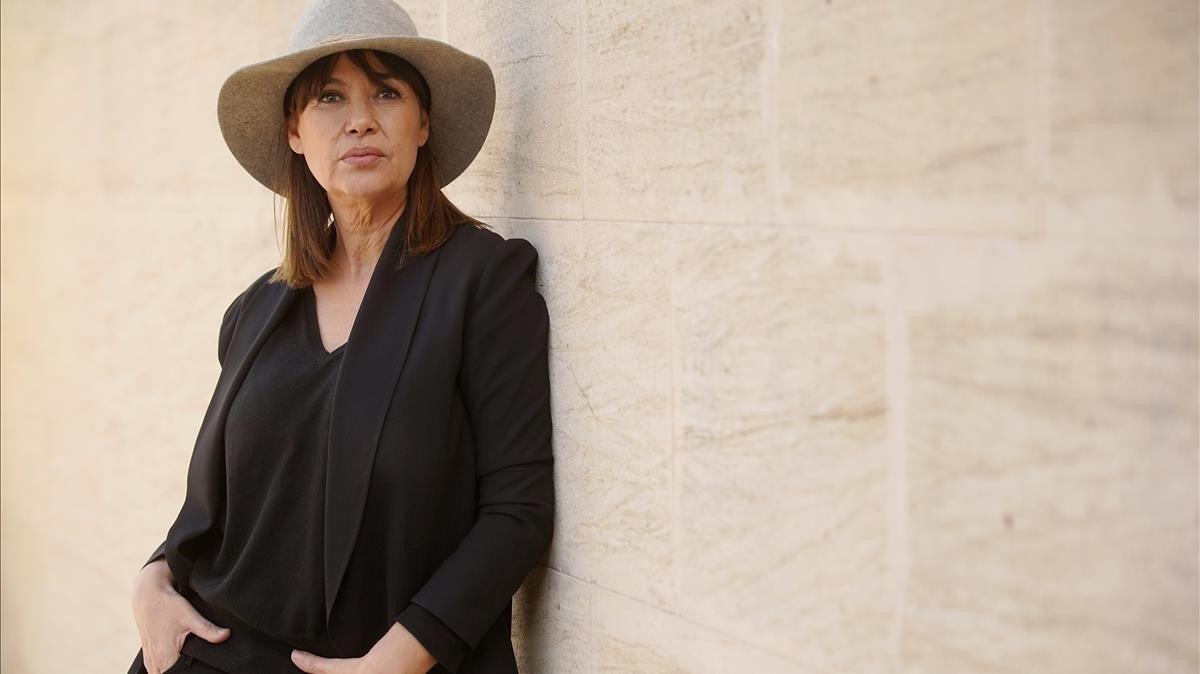 Mabel Lozano, directora del documental El Proxeneta.Paso corto, mala leche.