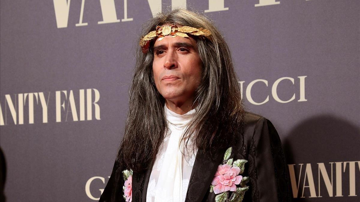 Mario Vaquerizo en lagala que la revista Vanity Fair, 2018.