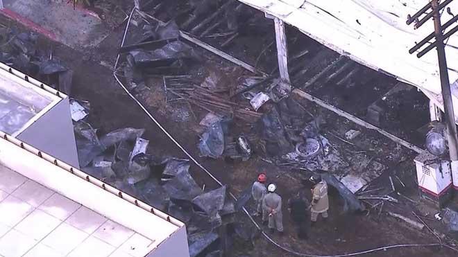 Al menos 10 muertos en el incendio de la ciudad deportiva del Flamengo, en Brasil.