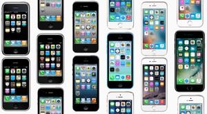 Todos los modelos del móvil iPhone.