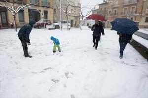 Trànsit y autopistas se preparan ante el riesgo de nevadas en Catalunya