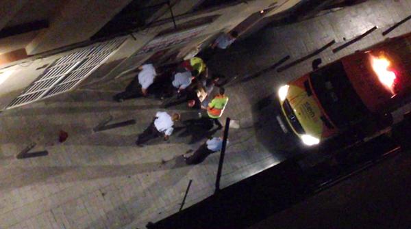 Nous vídeos ofereixen detalls de la violenta detenció de Benítez.