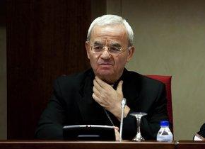 El nuncio Renzo Fratini, representante del Vaticano en España hasta el pasado junio.