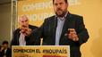 """Junqueras ve posible proclamar la República Catalana """"como muy tarde"""" en el 2016"""