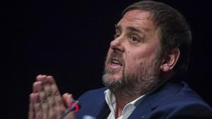Oriol Junqueras, exvicepresident de la Generalitat