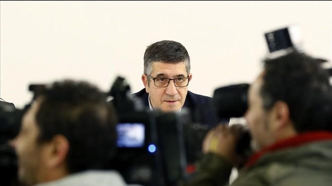 El PSOE confía en que Patxi López presidirá el Congreso