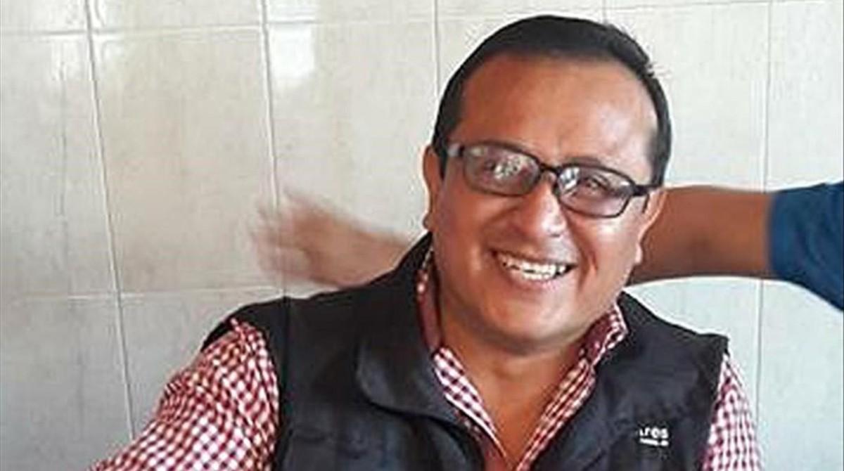 El periodista mexicano Héctor González, asesinado el 29 de mayo en Tamaulipas.