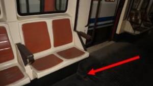 Zonas del interior de los vagones donde se ha hallado pintura con amianto.
