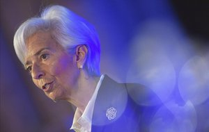 Presidenta del Banco Central Europeo, Christine Lagarde