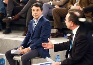 El presidente de la Comunidad de Madrid, Ignacio González, durante su participación en la convención del PP enValladolid.