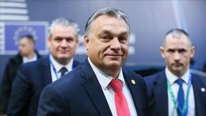El primer ministro húngaro, Viktor Orbán, el pasado 15 de diciembre en Bruselas.