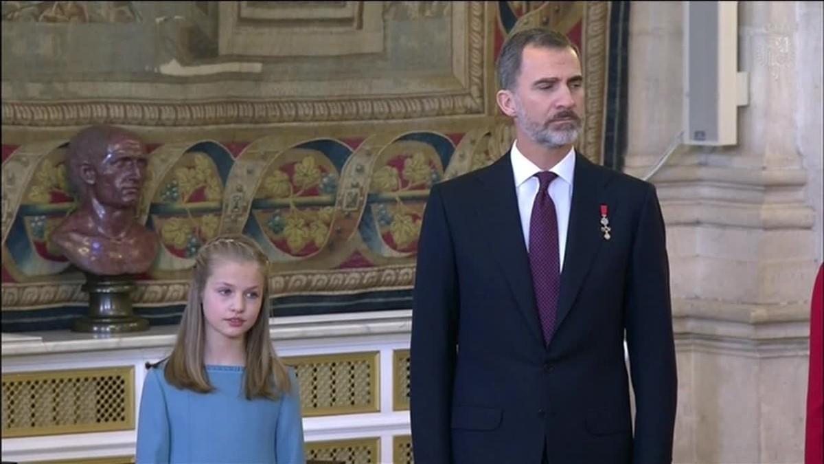 Al recibir el Collar del Toisón de Oro, la Princesa Leonor ingresa en la Orden dinástica más prestigiosa del mundo.