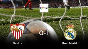 El Real Madrid se lleva la victoria tras vencer 0-1 al Sevilla