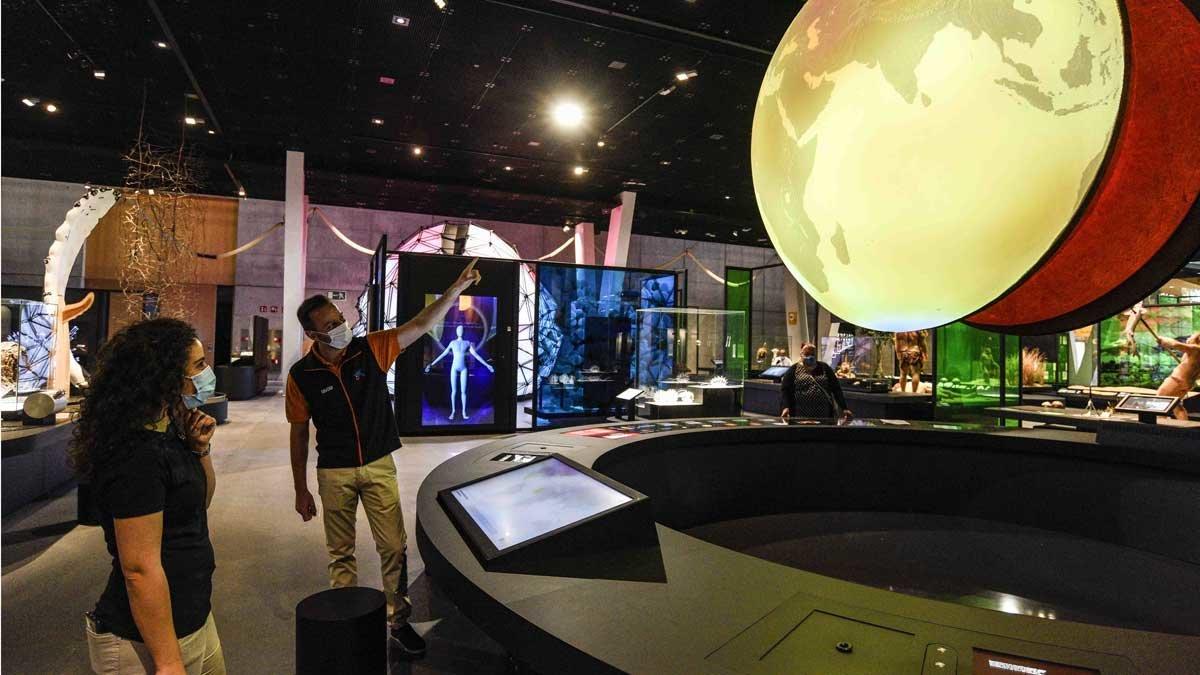 Sala Univers del Museu de la Ciència de la Fundació La Caixa, que reabre el próximo lunes 15 de junio.