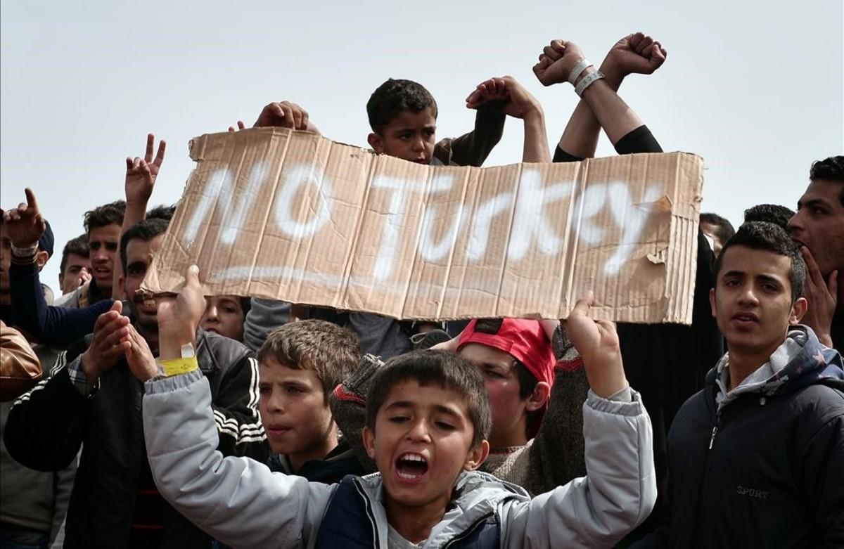 """""""No son refugiados, son personas"""""""