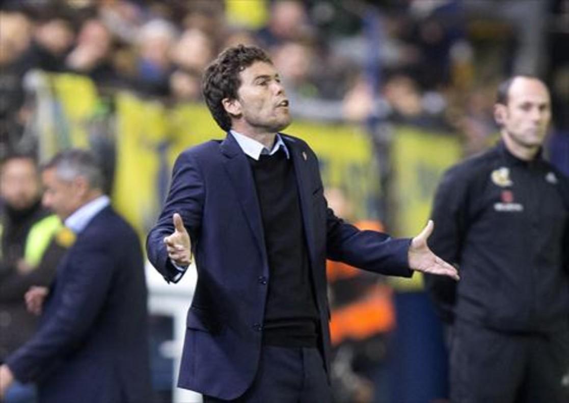Rubi, entrenador del Sporting.