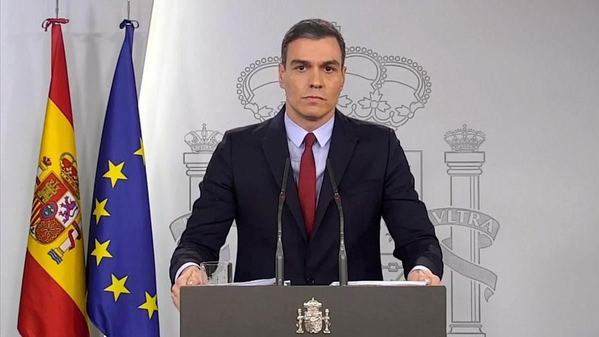 Pedro Sánchez endurece el estado de alarma y lo ampliará 15 días más
