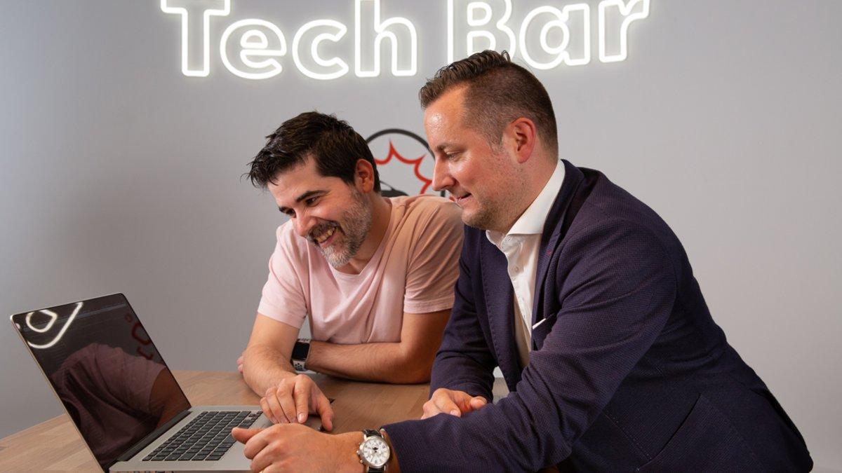 Carlos Buenosvinos (izquierda)y Sebastian Grams, líderes de Seat:Code.