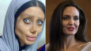 El sueño de Sahar Tabar es ser Angelina Jolie.