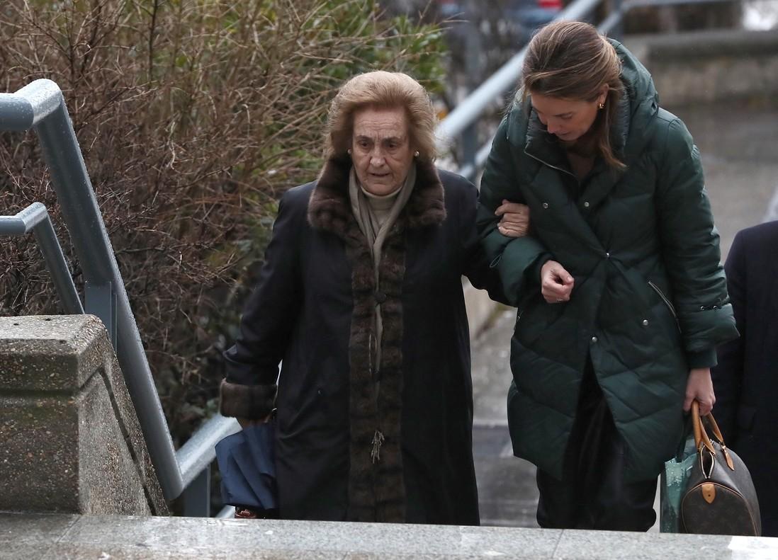 La expresidenta del Rayo Teresa Rivero, en otro juicio celebrado hace dos meses en Madrid.