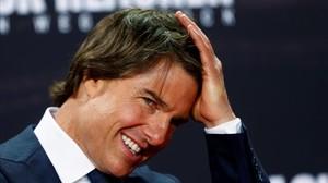 Tom Cruise, el año pasado en Berlín, durante la promoción de la última entrega de Jack Reacher