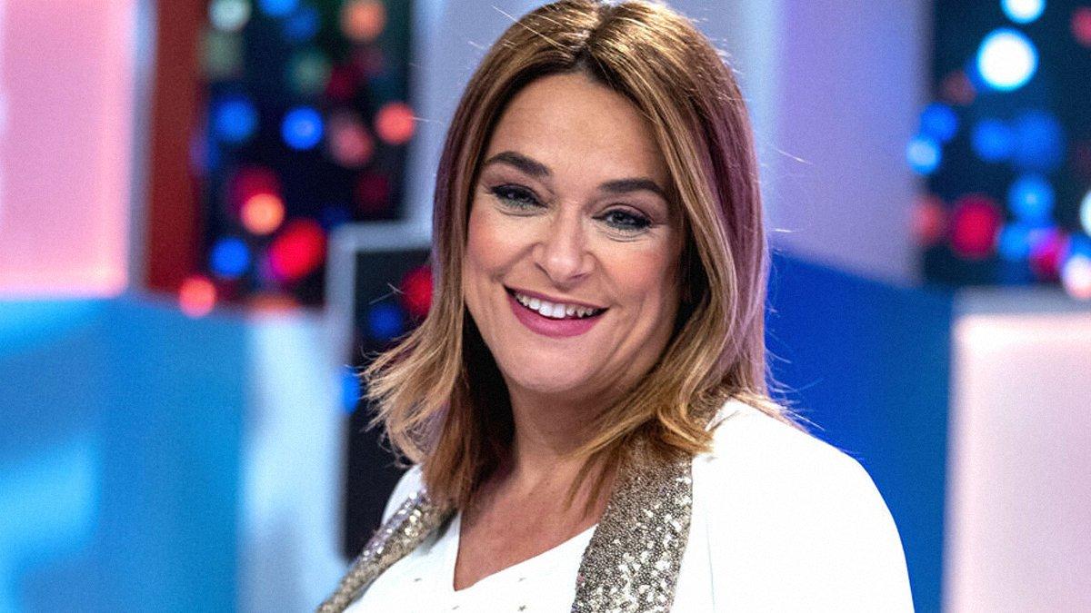 La presentadora de televisión, Toñi Moreno.