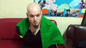 Luca Traini el día de su detención.