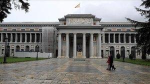 El Museo del Prado, el pasado sábado.