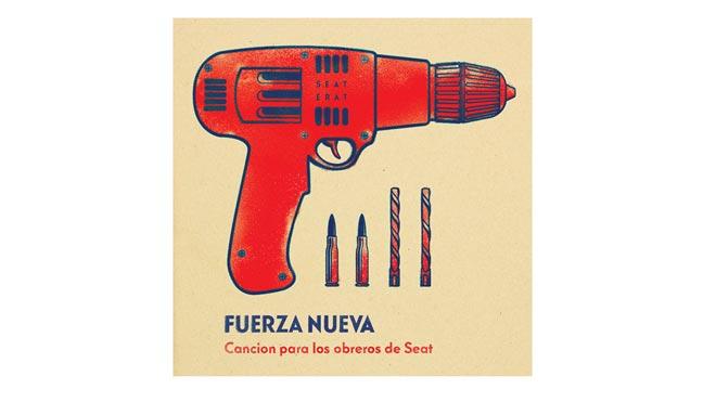 El videoclip de 'Canción para los obreros de Seat', de Fuerza nueva.