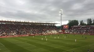 Vista general del Carlos Belmonte durante el Albacete-Barcelona B.
