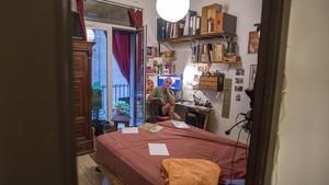 Un piso compartido en Ciutat Vella.