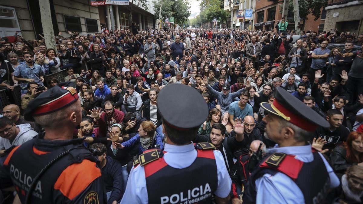 Un mosso com a testimoni protegit a Lleida