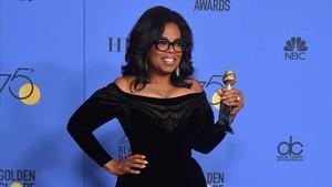 Oprah Winfrey en la gala de los Globos de Oro, el pasado 7 de enero, en Beverly Hills.
