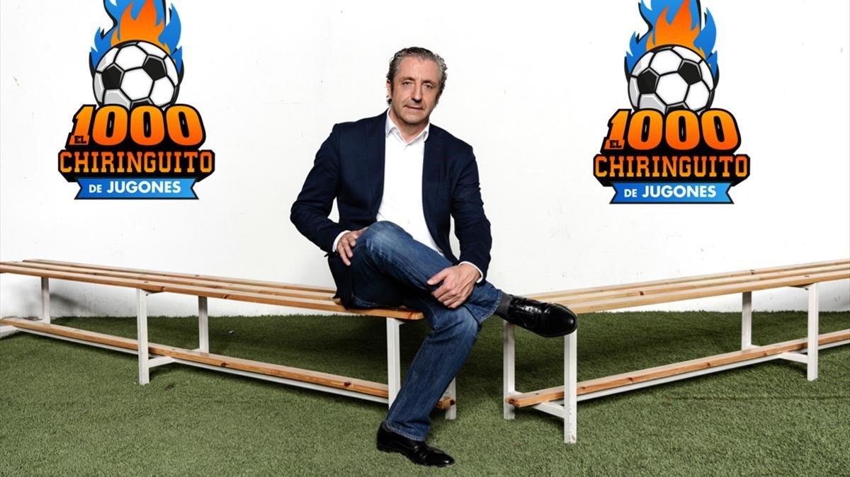 Josep Pedrerol, en una imagen promocional de Atresmedia.