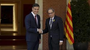 """Torra veu """"raonable"""" aparcar la república si el Govern proposa un referèndum"""